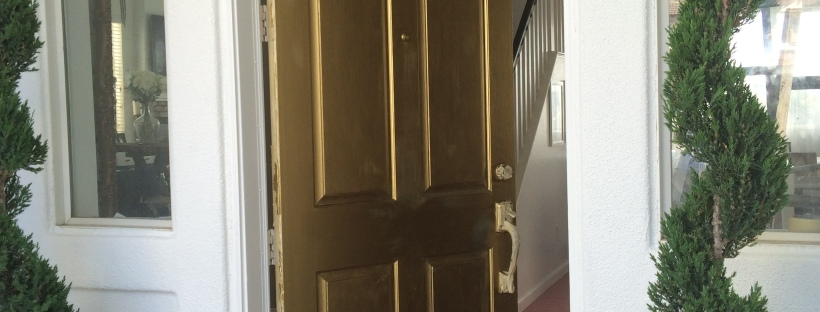 Diy Exterior Door In Gold Mrs Lady Renaissance